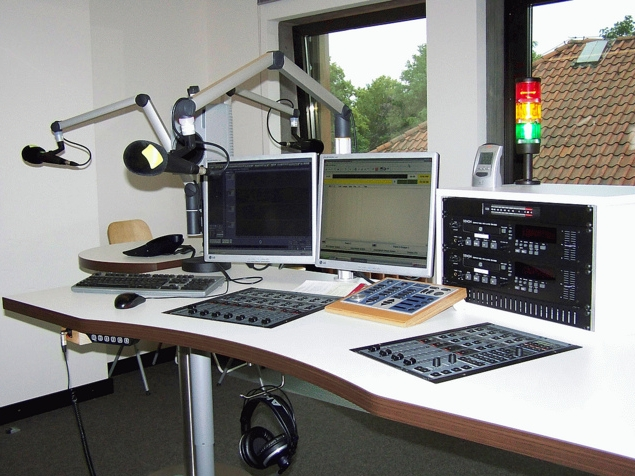 digital Studio 1 (for live shows) @ Tide 96.0 FM (Hamburg)