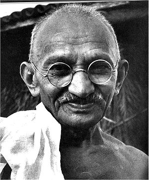 Mohandas K. Gandhi (1869-1948), political and ...